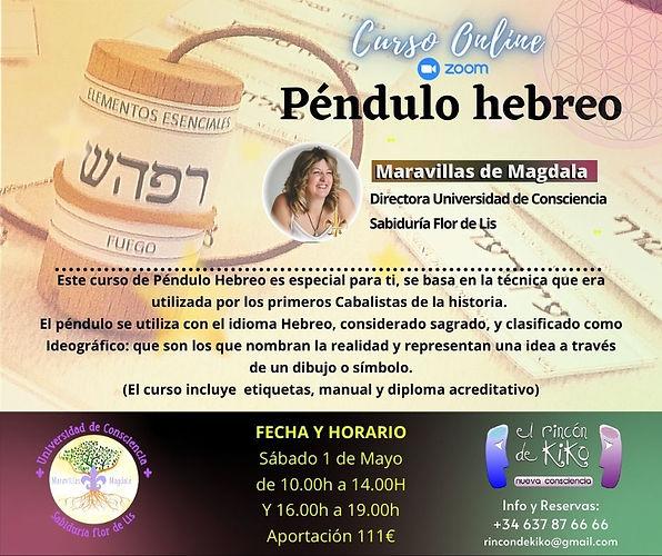 FECHA Y HORARIO Viernes 9 de Abril de 19