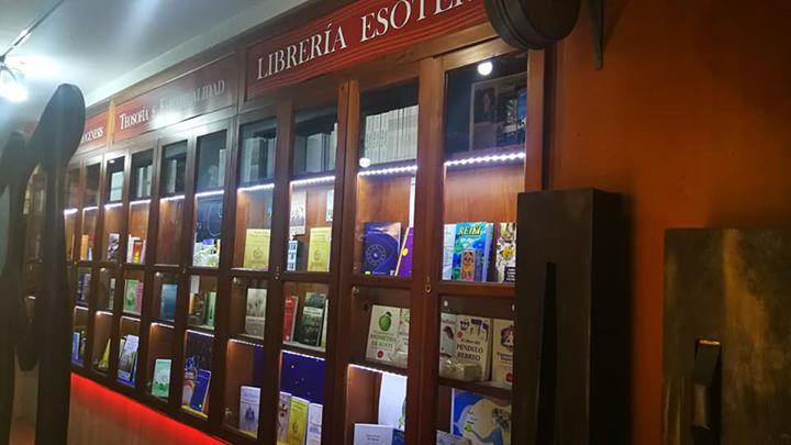 Librería exterior