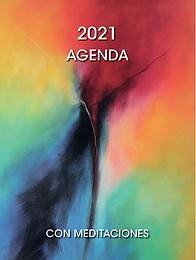 Agenda del 2021 con meditaciones