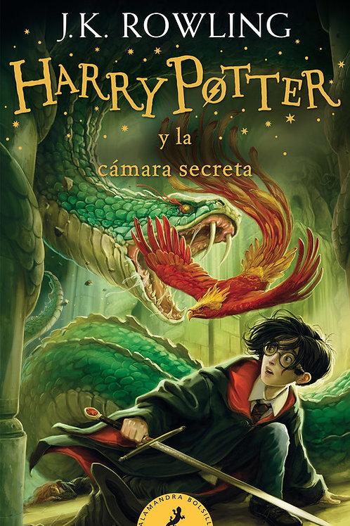 "Rowling, J. K., ""Harry Potter y la cámara secreta (Harry Potter 2)"""