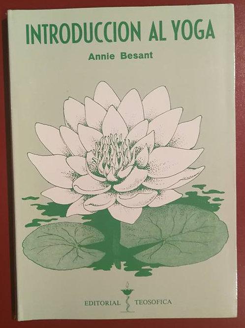 """Annie Besant """"Introducción al Yoga"""""""