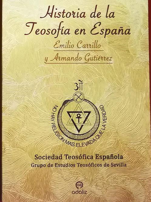 """Emilio Carrillo y Armando Gutiérrez """"Historia de la Teosofía en España"""""""