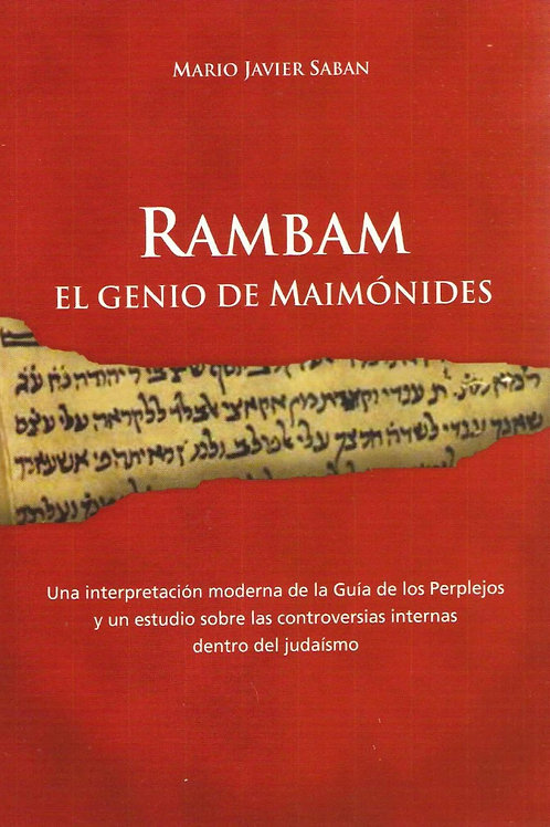"""Mario Sabán """"Rambam. El genio de Maimónides"""""""
