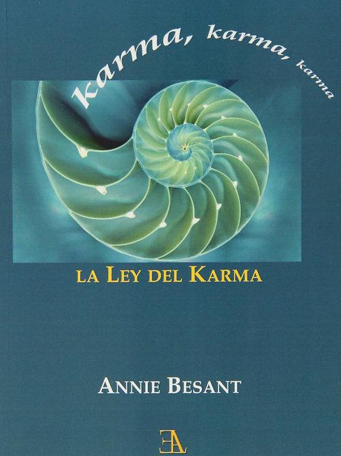 "Annie Besant, ""La Ley del Karma"""