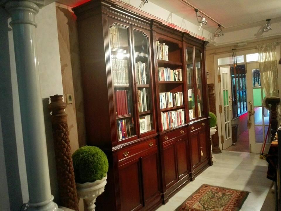 Librería interior
