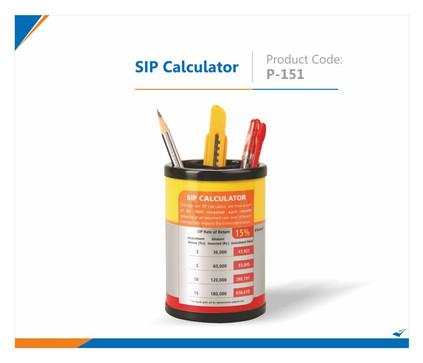 SIP Calculator Pen Stand