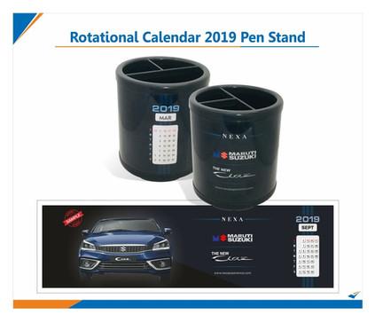 2019 Promotional Calendar Pen Stan