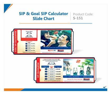 SIP Calculator Slide Chart