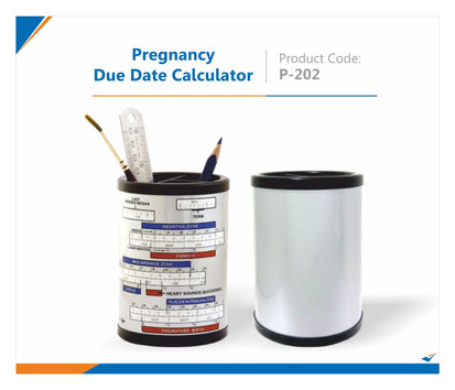 Pregnancy Due Date Pen Stand
