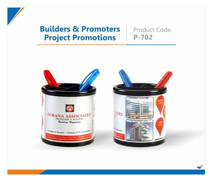 Builder & Promoter Promotional Pen Stand
