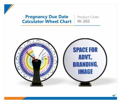 Pregnancy Due Date Calculator Wheel Chart