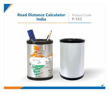Road Distance Calculator Pen Stand