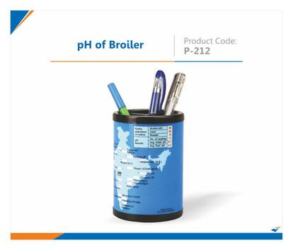 pH of Broiler Pen Stand