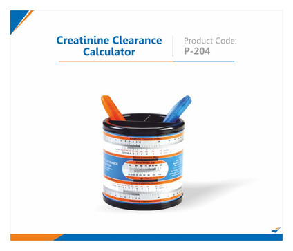 Creatinine Clearance Calculator Pen Stand