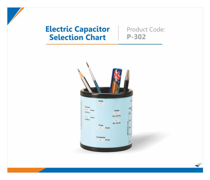 Electric Capacitor Selection Pen Stand
