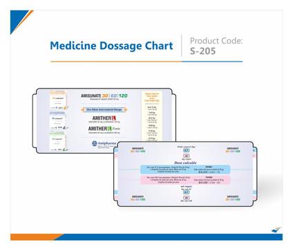 Medicine Dosage Chart Slide Chart