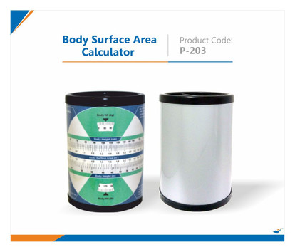 Body Surface Area Pen Stand