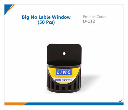 Big No Lable Window