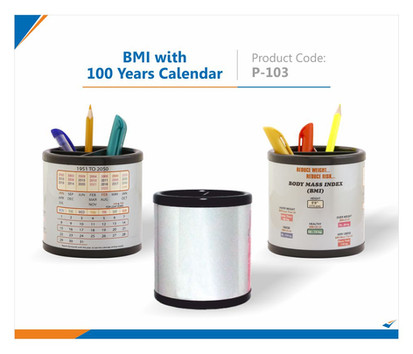 BMI with 100 Years Calendar