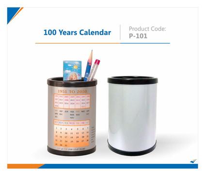 100 years calendar Pen Stand