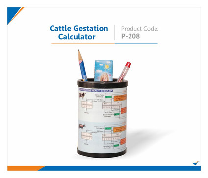 Cattle Gestation Pen Stand