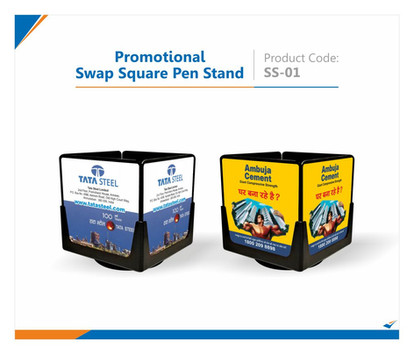 Swap Square Pen Holder