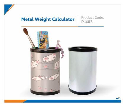 Metal Weight Calculator Pen Stand