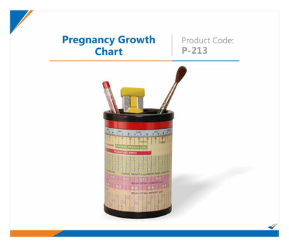 Pregnancy Growth Chart Pen Stand