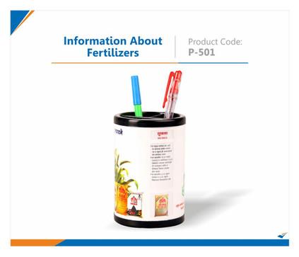 Information about fertilizer Pen Stand