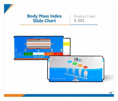 Body Mass Index Slide Chart