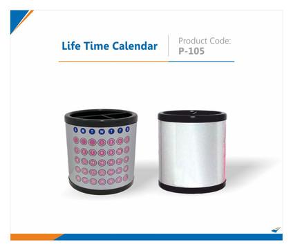 Lifetime Calendar
