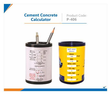 Cement Concrete Calculator