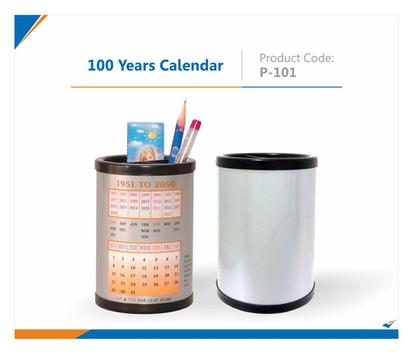 100 Years Calendar