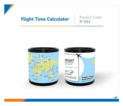 Flight Time Calculator Pen Stand