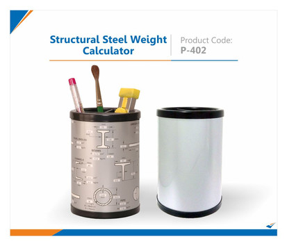 Structural Steel Weight Calculator Pen Stand