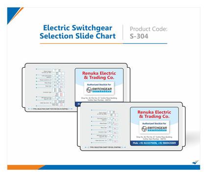 Electric Switchgear Selection Slide Chart