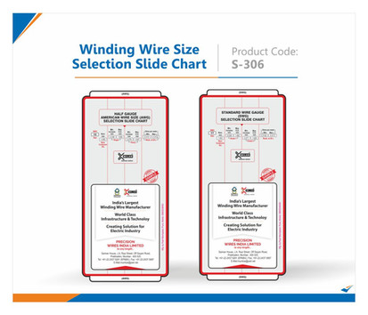 Winding Wire Size Selection Slide Chart