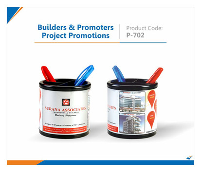 Builders & Promoters Project Promotions Pen Stand