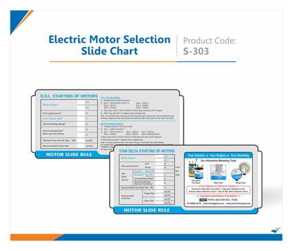 Electric Motor Selection Slide Chart