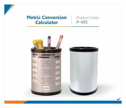 Metric Conversion Calculator Pen Stand