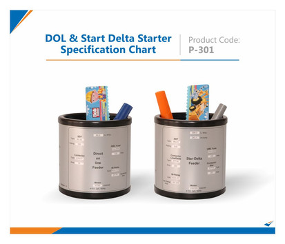DOL & Start Delta Starter specification Pen Stand