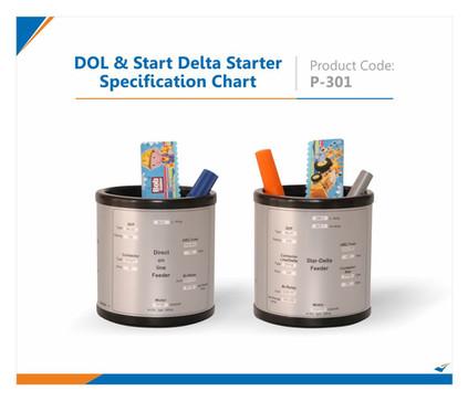 DOL & Start Delta Starter specification Pen Stand