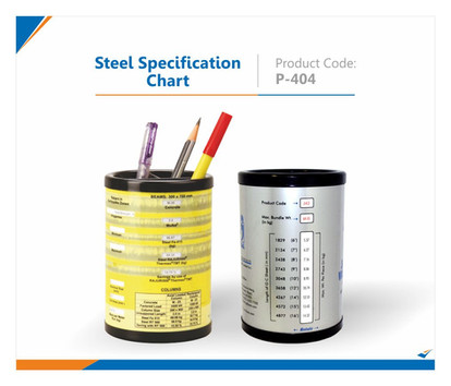 Steel Specification Chart