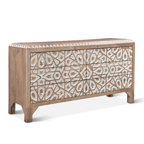 Tangiers 6 Drawer Dresser