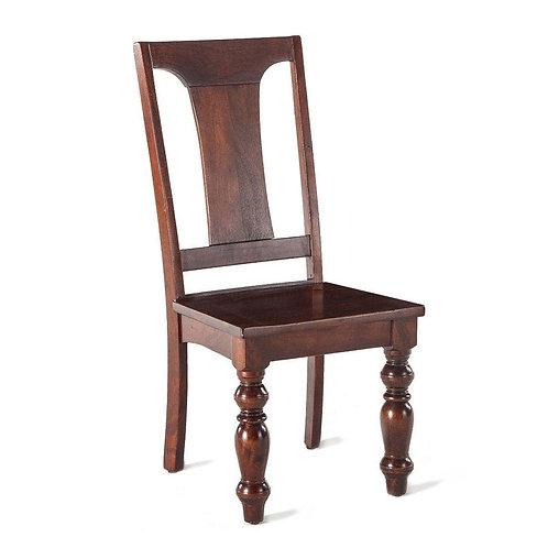 Colonial Plantation Dining Chair Walnut