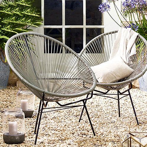 Outdoor Rattan Chair Three-Piece Balcony Garden Patio Outdoor Furniture