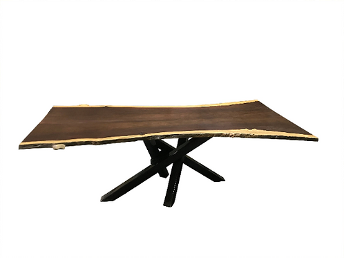 Live Edge Katalox Dining Table