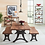 """Thumbnail: Organic Forge 72"""" Dining Table"""