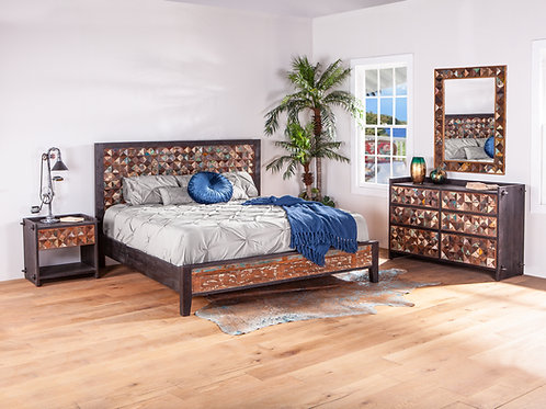 Rio King Bed