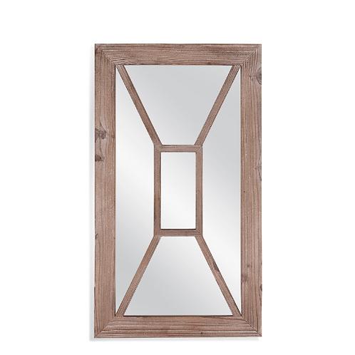 Boca Wood Wall Mirror